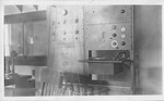 Record player and broadcasting equipment from WHBY by St. Norbert Abbey