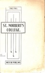 College Catalog 1902-03 by St. Norbert College
